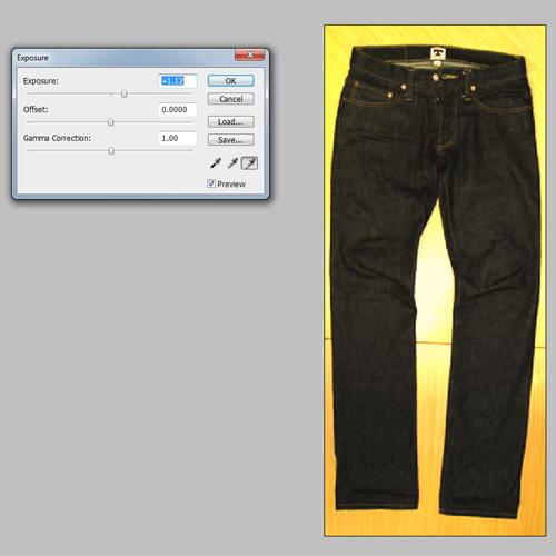 jeans exposure